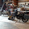 The G650GS Sertao is ready to load for the trip