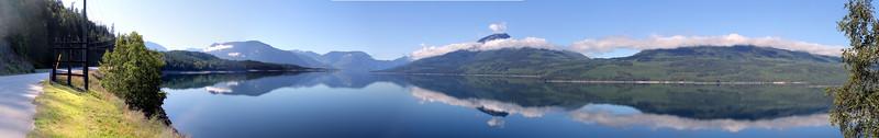 Kootenay Lake north of Nakusp, BC