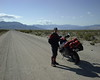 Paul Hinshaw met me in Big Pine and we rode together through Death Valley, Nevada and Utah and some AZ.