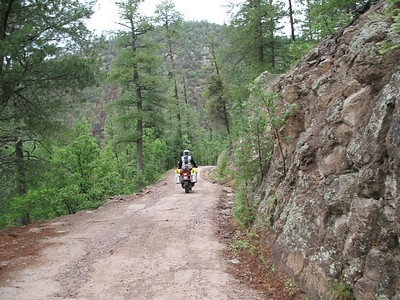 North of Silver City NM