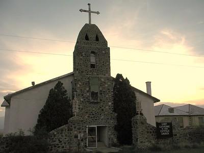 The Catholic Church in Hachita, NM