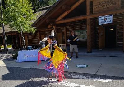 Nez Perce dancer