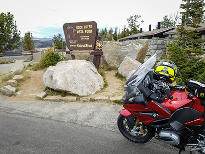 First pullout westbound on Beartooth Highway