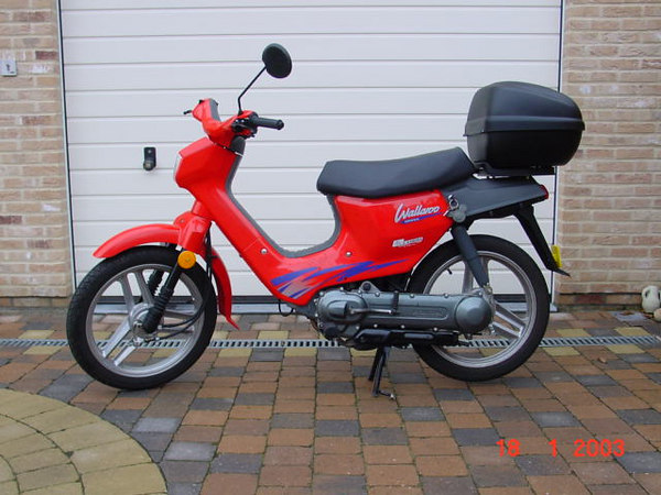 HONDA Wallaroo 50cc, 25 km/Hr