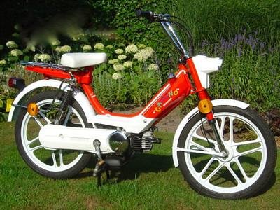 Honda PA50 Camino, 25km/hr.