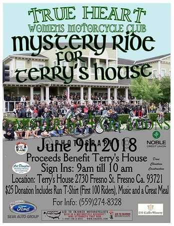 2018 True Heart WMC Mystery Ride