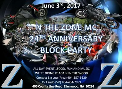 N The Zone 24th Anniversary Day Party