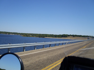 Crossing Lake of the Pines