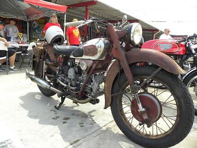An old Moto Guzzi