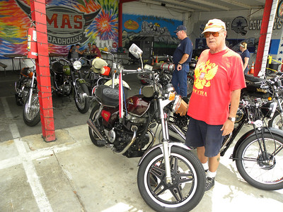 Roger and his Honda CM450 Custom