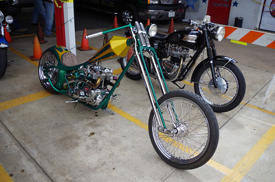 Rick Fairless' Triumph Chopper