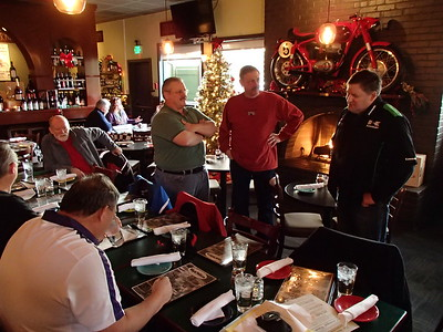 2016 Holiday Lunch at Cafe Veloce