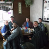 Mark, Dan, Mort, Charlie Rich and Jack @ the Cafe Around the Corner in Orting WA