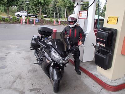 Nicole Snick rides WA state