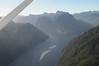 entering Fiordland National Park