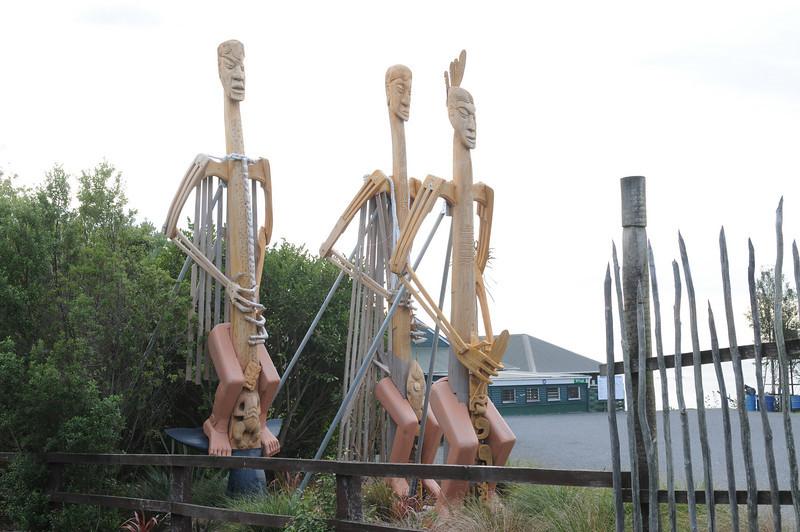 Maori Sculptures