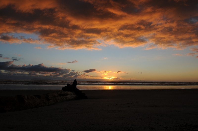 Sunrise on Waihi Beach