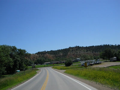 route 24 jct at Hewlett, WY