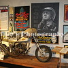 Steve McQueen's personal Indian motorcycle as he rode it