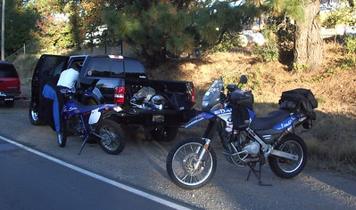 Nevada County Dual Sport, October 28, 2006