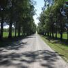 The road into Fort Ticonderoga