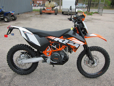 New KTM 690R