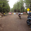 Closed road north of Flagstaff