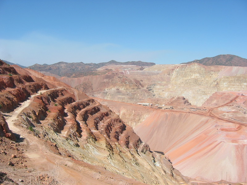 Morenci Copper Mine.  Really really big.