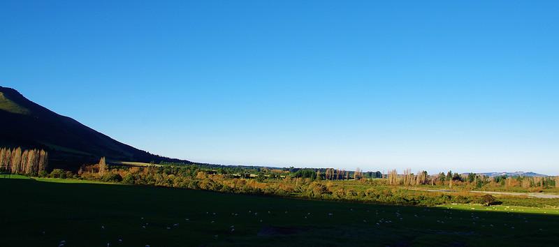 Foothills behind Oxford