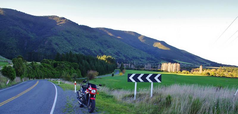 Road to Ashley Gorge