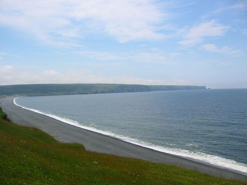 A beach on southern Avalon peninsula