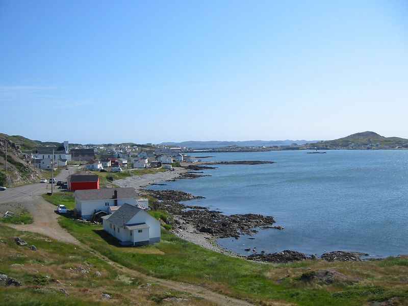 The harbor at Twillingate