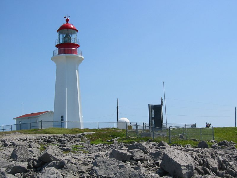 Lighthouse and Foghorn at New Ferrole