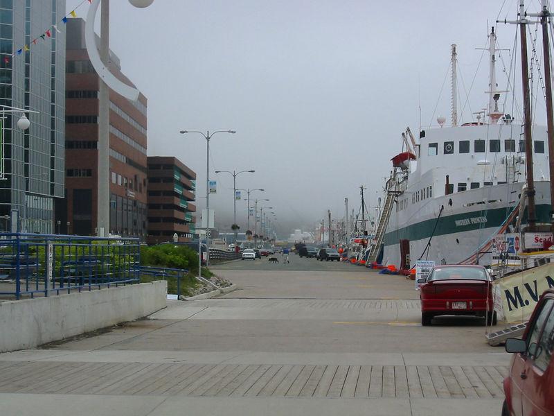 Harbor walk in St. John's
