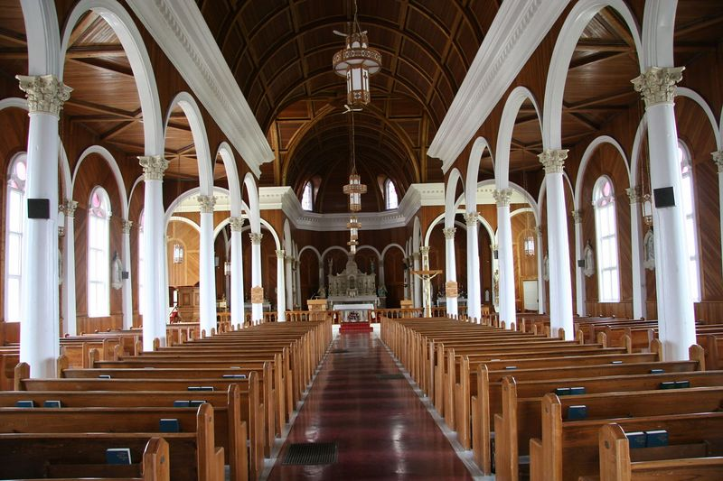 Interior of Church at Port au Port West