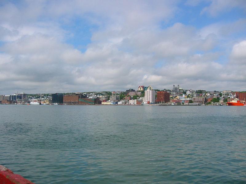 St. John's harbor looking West