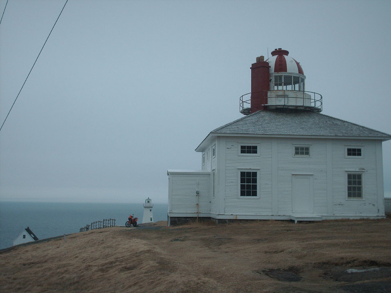 old & new Cape Spear lighthouses 28/04/07
