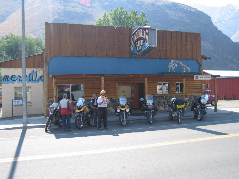 Riggins, ID - look at the sign on the right...Next pic has a close-up