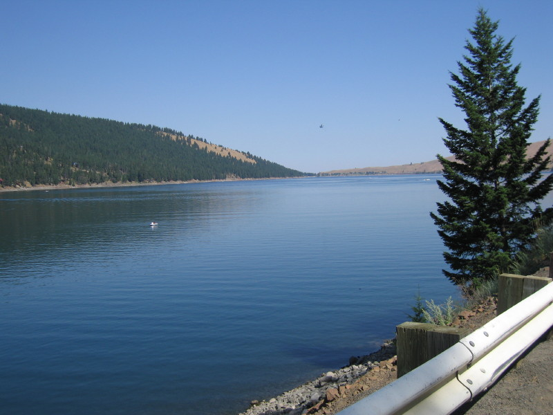 Lake Willowa, OR.