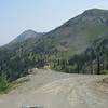 The route to Black Lake high in the Idaho Mountains