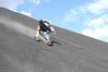 JBECK_NICA_DSC_0105: The author on Volcan Cerro Negro.