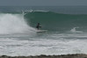 JBECK_NICA_DSC_0013: The author surfing Popoyo's main break.