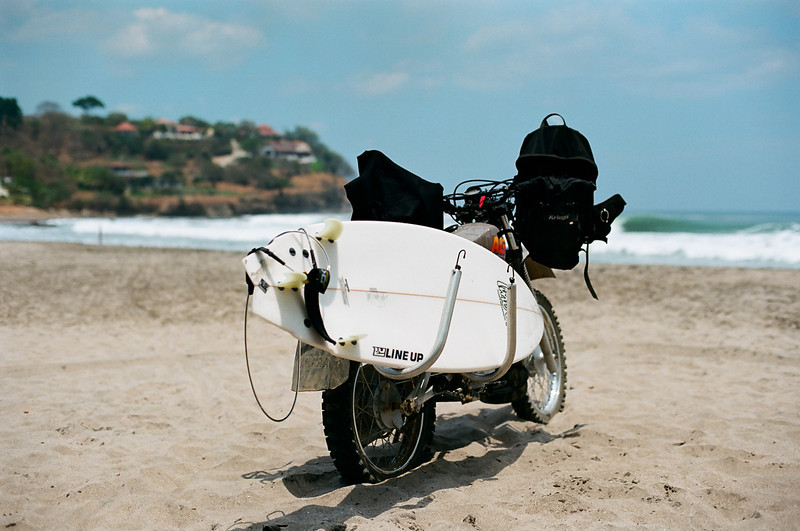 JBECK_NICA_60510011: Parked near playa Santana.