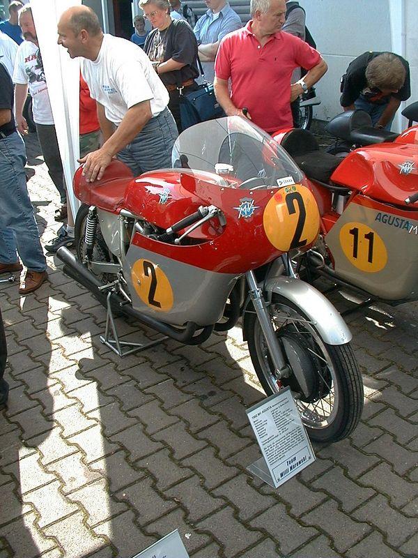 ex-Agostini 500 cc 4 cylinder MV Agusta