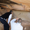 Photographing the Petroglyphs at Painted Hand