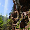 Trail to the Emerald Pools in Zion National Park