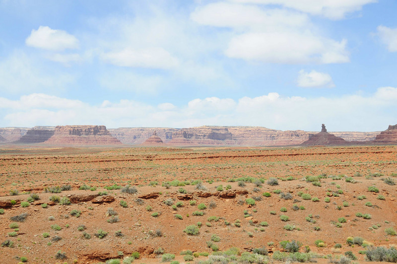 Looking into Valley of the Gods