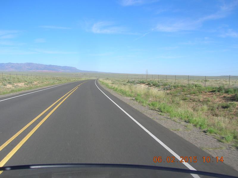US160 heading towards Kayenta.