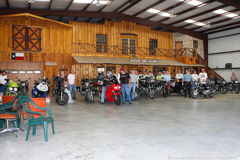 June 06 Meeting at Phil Crane\'s Hanger at Hicks Airfield.