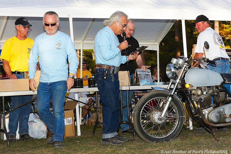 "Honorary Life Membership! Joe Edwards \""Dr Norton\""...Lake of the Pines Rallye 6/7/8 October 2006"